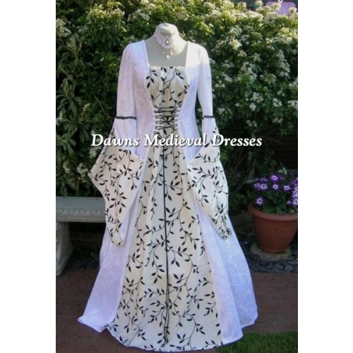 Pagan Medieval Wedding Dresses, Dawns Medieval Dresses