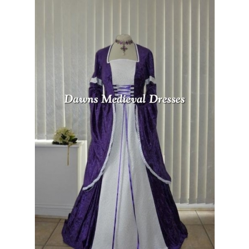 Medieval Wedding Dresses Mthat Are Purple 116