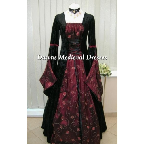 Pagan Open Sleeve Medieval Dresses