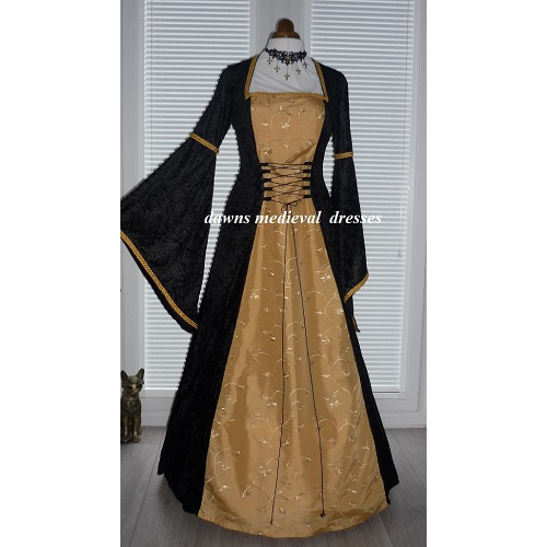 Renaissance Medieval Pagan Dress Costume