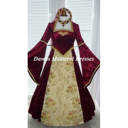 Tudor Medieval Renaissance Dress Costume RM 18 - 20