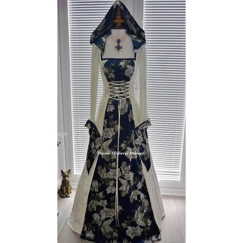 Pagan Handfasting Medieval Renaissance Wedding Dress