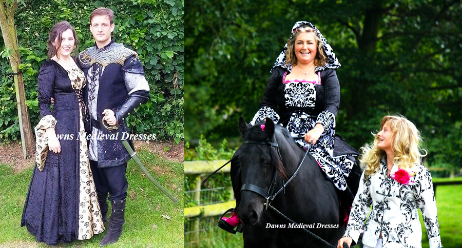 Quality hand made Medieval Dresses and Gowns for Weddings ...